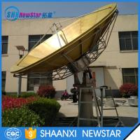 High quality 4.5m full motion Rx/Tx transmit satellite communication antenna Manufactures