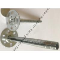 China Stainless Steel Insulation Wall Plugs , Perforated  Metal Insulation Anchor Nail on sale