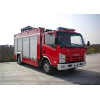 Buy cheap 4x2 chassis 260 L/Min Flow Light Fire Truck Halogen Lamp Tanker Fire Truck from wholesalers