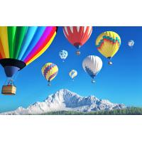Quality Colorful Polymorphic Inflatable Hot Air Balloon For To Go Sightseeing / Wedding Trip / Advertising for sale
