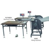 Sofa Factory Fiber Filling Machine Working Table With Scale Grey Color Manufactures