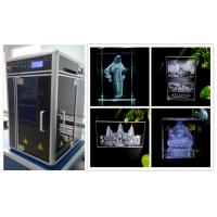 Mini 3D Subsurface Laser Engraving Machine , Motion Controlled 3D Laser Engraving System Manufactures