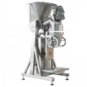 High Precision Semi Automatic Filling Machine , paper bag packing Machine For 10kg 50kg Wheat Flour / Milk Powder Manufactures