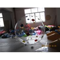 Clear Inflatable Human Sphere Inflatable Water Walking Ball 2M Diameter Manufactures