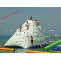 Large Iceberg Inflatable Water Toys Outdoor Sea Inflatable Water Climbing Wall Manufactures