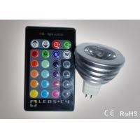 Colour Changing Led Lights 3W MR16 Remote Control Led Lights ATF-RGB3WMR16 Manufactures