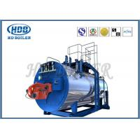 High Thermal Efficiency Steam Hot Water Boiler Generators With Oil / Gas Fired Manufactures