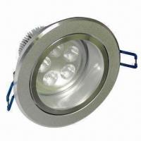 LED Downlight with High-quality and Long Lifetime, 100 to 240V AC, 50 to 60Hz Input Voltage Manufactures