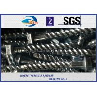 Rail Screw & Spikes,  Spiral Spikes for railway fastening system Manufactures