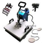 Cap/Mug/T-Shirt/Plate Combo Heat Press Machine (HP5IN1-2) Manufactures