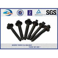 ZhongYue rail screw spikes railway fasteners 4.6, 5.6,8.8,10.9 grade Manufactures