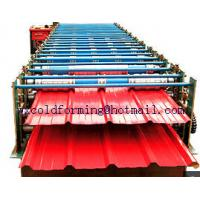 Double Layer Wall Panel Roll Forming Machine Automatic High Speed have PLC control Manufactures