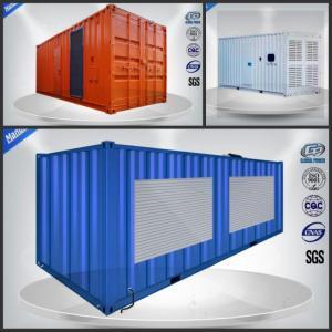 Rainproof 50Hz 800KW / 1000KVA Container powerful diesel generator set Manufactures