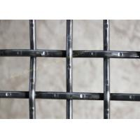 High Carbon Steel Square Intercrimp Wire Mesh , Mining Double Crimped Wire Mesh Manufactures