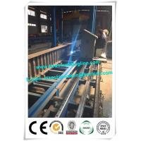 Corrugated web assembling for H beam production line , H beam corruagated welding machine Manufactures