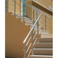Indoor Aluminum Extrusion profile For Hand Railings Anodized Manufactures