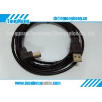 China 90 Degree Angle USB Connectors Moulded T-012 on sale