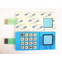 Quality Five Push Button Waterproof Membrane Switch In Transparent Window Medical for sale