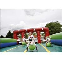CE certified Inflatable Derby Race , Inflatable Pony Hop Manufactures