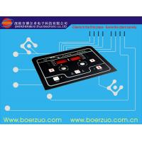 Quality LED Membrane Switch Keypad / Tactile Membrane Sticker For Domestic Appliance for sale