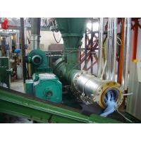 PVC 200mm Plastic Pelletizing Machine / Roller Extruder , Cylinder Planetary Roller Screw Manufactures