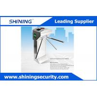 Access Control Tripod Waist High Turnstile Security Systems With Manual Button Manufactures