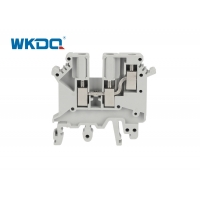 JUK 3 TWIN Phoenix Contact Screw Insulated Terminal Block Connector Flat Bottom Cable Connection Installed On Tracks Manufactures