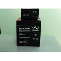 Sealed Rechargeable 12v Agm Deep Cycle Battery For Alarm System Manufactures