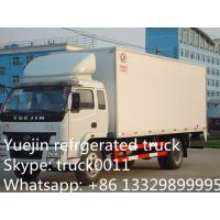 Quality Iveco Yuejin 5tons refrigerator truck, Yuejin brand stainless steel cold room for sale