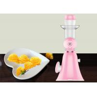 Buy cheap Hand Fruit Ice Cream Maker Homemade Pure Juicer No Added Preservatives from wholesalers