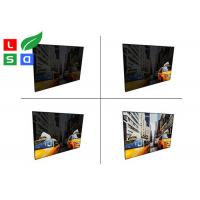 Aluminum Material EL Light Panel DC 12V / 24V LED Animation Textile Frame Manufactures