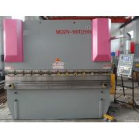 Precision Steel  	Hydraulic Shearing Machine Easy Operation Pipe Bending Machines Manufactures