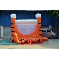 Indoor Commercial Inflatable Bouncer House Sporting Tarpaulin For Family Manufactures