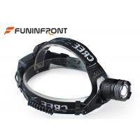 High Lumen CREE T6 Adjustable Focus Outdoor LED Headlamp, Zoom Bicycle Headlight Manufactures