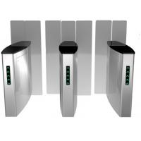 Optical Bi - Part ing Full Glass Turnstile Manufactures