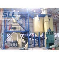 Energy Saving Mortar Mixing Equipment With Diesel Oil / Coal Sand Dryer Manufactures