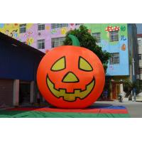 Orange Inflatable Products Pumpkin Style With Grimace Custom Manufactures