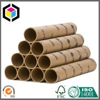 Custom Color Print Brown Paper Tube; Strong Paper Tube for Shipping Manufactures