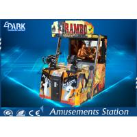 Digital 3D Display Shooting Arcade Machines With Interactive Sound System Manufactures
