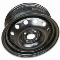 Car Snow Wheel Rim with PCD of 108mm, ET of 52.5mm and Spoke Style Manufactures