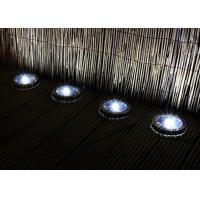 Stainless Steel Solar Deck Lights LED Cold / Warm White Solar Powered Deck Stair Lights Manufactures