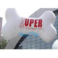PVC Outdoor Custom Shaped Balloons , Bone Customised Helium Balloons Manufactures