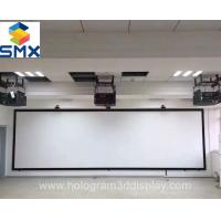 Large 4K 3D Cinema Screens Silver 3D Projection Screen with Silver Painting Manufactures