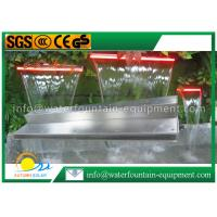 Garden Water Fountain Equipment Waterfall Blade With Remote Controller 1500mm Length Manufactures