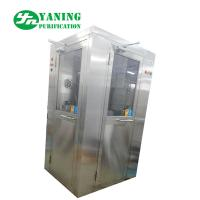 China L Type Door Corner Stainless Steel Air Shower Customize Size Easy To Clean on sale