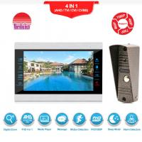 High definition video door phone with motion detection security video intercom system Manufactures