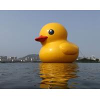 Yellow Big Duck Custom Inflatable Products Model For Adversiting Show In Outdoor Manufactures