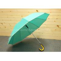 Weatherproof Promotional Golf Umbrellas With Logo , Personalised Business Umbrellas Manufactures