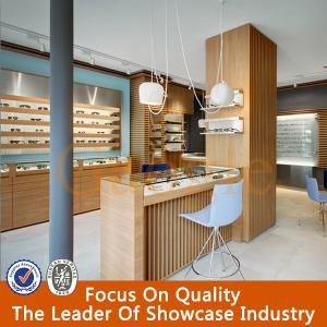 Rotating Wooden Glass Eyewear Showcase Manufactures