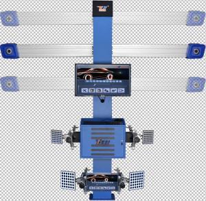 Auto Tracking 4 Wheel Alignment Machine , T268 On Vehicle Wheel Balancing Machine Manufactures